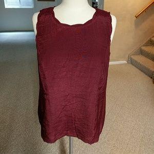 💞NWT C & B sleeveless blouse